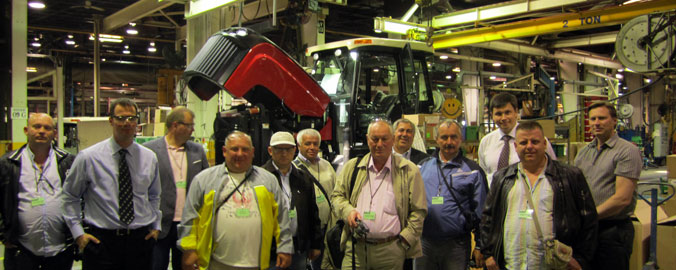 Group Visit to Versatile Tractor Manufacturer, Winnipet