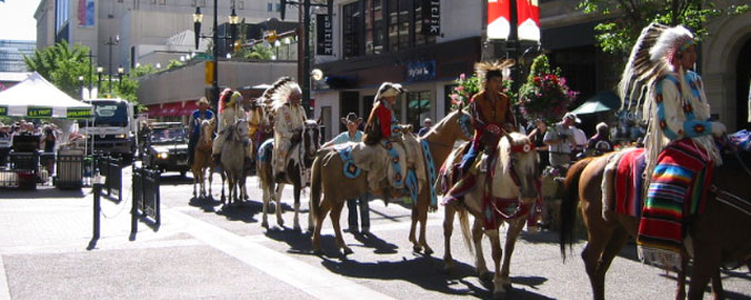 Calgary Stampede - Parade: Plains Indians