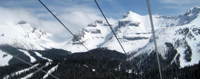 Skiing in the Rocky Mountains - Sunshine, Ski Resort, Banff