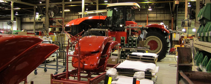 Winnipeg, Canada - Versatile Farm Equipment Manufacturer