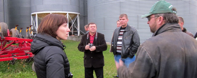 Visit to a Crop Farmer in Ontario